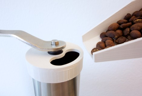 Coffee bean grinding tools