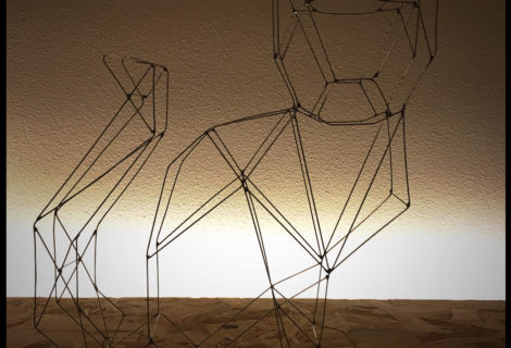 Wire art cat instructable